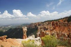 Hoodoo каньона Bryce Стоковые Изображения RF