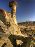 Hoodoo and Arch Royalty Free Stock Image