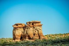 Hoodoo in  AZ near Lake Powell Royalty Free Stock Images