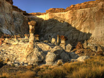 Hoodoo Central Royalty Free Stock Images