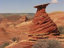 Hoodoo de la piedra arenisca de Navajo Fotos de archivo libres de regalías