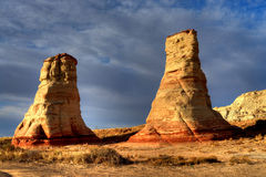 Hoodoo Navajo Nation Arizona Royalty Free Stock Images