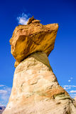 Hoodoo in Page AZ near Lake Powell Stock Photos