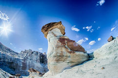 Hoodoo in Page AZ near Lake Powell Royalty Free Stock Photo