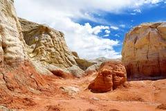 Hoodoo and Paria Rimrocks in the Vermillion Cliffs, Utah Stock Photo