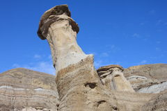 Hoodoo reaching to the sky Royalty Free Stock Images
