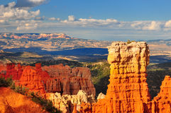 Hoodoo rock formation in Bryce Canyon. Royalty Free Stock Photography
