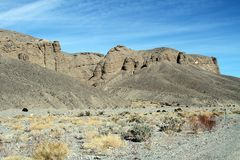 USA, Calif.: Death Valley - hoodoo rock formations Royalty Free Stock Image