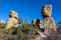 Hoodoo Rock Formations Royalty Free Stock Photos