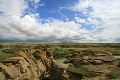 Hoodoo Scenery Royalty Free Stock Photography