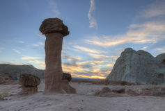 Hoodoo Sunset Royalty Free Stock Photo