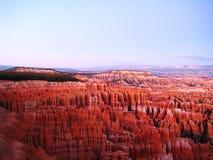 Hoodoos в каньоне Bryce (США) Стоковая Фотография