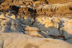hoodoos неплодородных почв Стоковые Фото