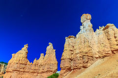 Hoodoos in Bryce Canyon Stock Photos