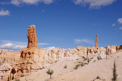 Hoodoos of Bryce Canyon National Park Stock Images