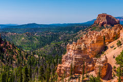 Hoodoos in Bryce Canyon National Park Utah Royalty Free Stock Photography