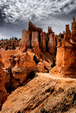 The Hoodoos of Bryce Canyon Stock Images