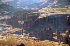 Hoodoos in Canyonlands Immagine Stock Libera da Diritti