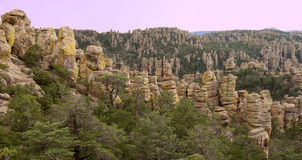 Hoodoos - Chiricahua National Monument, Arizona, U Stock Photos