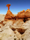 Hoodoos Cliffs  Desert Landscape Badlands Royalty Free Stock Photography