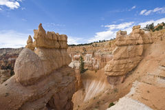 hoodoos d'amphithéâtre Photo stock