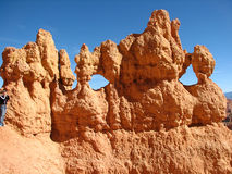 hoodoos de gorge de bryce Photos stock