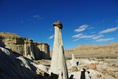 Hoodoos de Whaweap, Utah Imagenes de archivo