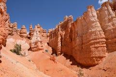 Hoodoos del parque nacional de la barranca de Bryce Foto de archivo