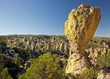Hoodoos di pietra al monumento nazionale di Chiricahua Fotografia Stock Libera da Diritti