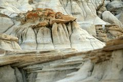 Hoodoos In Drumheller, Alberta Royalty Free Stock Photo