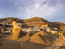 Hoodoos, Drumheller Royalty Free Stock Images
