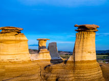 Hoodoos, Drumheller Stock Photo