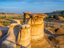 Hoodoos, Drumheller Stock Photography