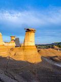 Hoodoos, Drumheller Royalty Free Stock Photos