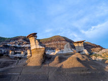Hoodoos, Drumheller Royalty Free Stock Photography