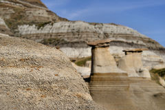 Hoodoos Drumheller Stock Photo