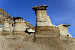 Hoodoos Drumheller Royalty Free Stock Photography