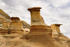 Hoodoos Drumheller Royalty Free Stock Images