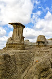 Hoodoos Drumheller valley Stock Image