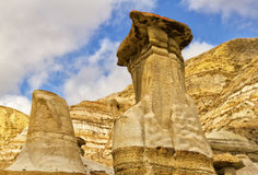 Hoodoos Drumheller valley Stock Photography