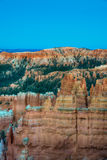 Hoodoos in early morning light in Bryce Canyon National Park. Orange and pink hoodoos in early morning light, Bryce Canyon National Park, Utah Royalty Free Stock Photos