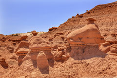 Hoodoos Goblin Valley State Park Utah Royalty Free Stock Photos