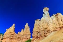 Hoodoos i den Bryce kanjonen Arkivfoton