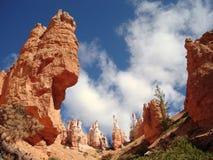 Hoodoos na garganta NP de Bryce Foto de Stock Royalty Free