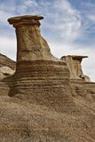 Hoodoos near Drumheller Royalty Free Stock Photos