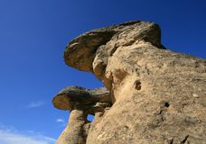 Hoodoos Overhead Royalty Free Stock Photo