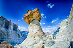 Hoodoos przy stadnina konia punktem w Arizona Zdjęcie Royalty Free