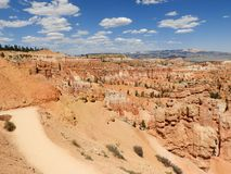 Bryce Canyon National Park, Utah, USA - Hoodoos formation - magical geology royalty free stock photography