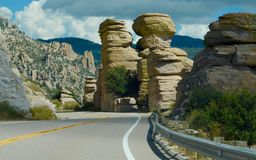 The Hoodoos Stock Images