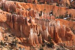 Hoodoos Sandy каньона Bryce Стоковое Изображение